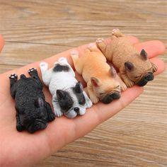 "Sleeping ""Frenchie"" French Bulldog Magnets"