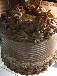 German Chocolate Cake by Kodamakitty, via Flickr