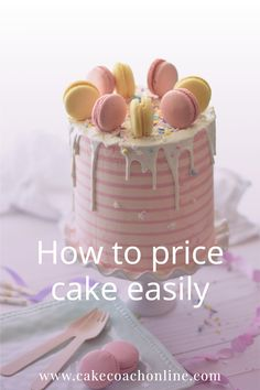 Learning how to price cakes for home business is important - otherwise you more than likely are undercharging for your service. And the only person missing out is you! Read more about cake pricing from our blog...