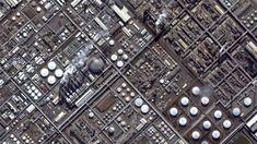 Urban Fabric, Aerial Photography, Texture Art, City Photo, Concept Art, Twitter, Futurism, Taiwan, Cyberpunk