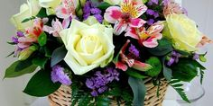 Roses Alstroemeria Chrysanthemums