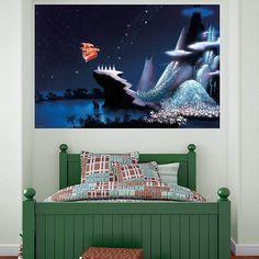 Beautiful Velvet U0026 Dash Interiors Peter Pan Wallpaper   Bedroom Paper   ♥ Best BABY  Decor ♥   Pinterest