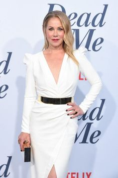 """Christina Applegate Photos - Christina Applegate attends Netflix's """"Dead To Me"""" season 1 premiere at The Broad Stage on May 2019 in Santa Monica, California. - Netflix's 'Dead To Me' Season 1 Premiere - Arrivals Chic Outfits, Fashion Outfits, Christina Applegate, Dead To Me, Female Actresses, Stunning Women, Fashion Plates, Santa Monica, Celebs"""