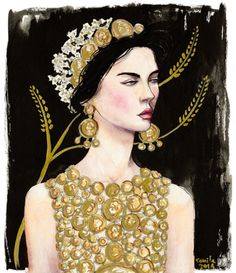 Dolce & Gabbana S/S 2014 by Camila Cerda Swide.Archives: Dolce & Gabbana S/S 2014 Illustration Project (Part 2)