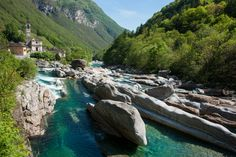 The Valle Verzasca is a valley in the Locarno district of the Canton of Ticino, Switzerland.
