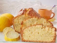 лимонный кекс на кукурузной муке