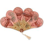 Tempting Templates from Stampington & Company - Fanciful Fan