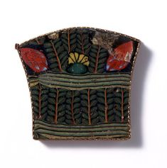 Romano-Egyptian Mosaic Glass Inlay with Plant Motif | par Ancient Art