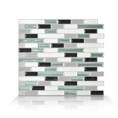 Stick on wall tiles espacially designed for kitchen or bathroom environments. Backsplash resistant to heat and humidity. DIY and save!