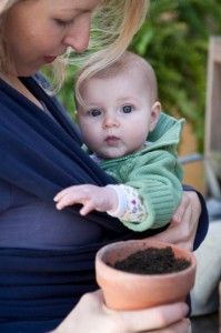 Mothering Magazine || Gardening With Babies || by Sarah Copeland