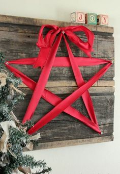 70 Weihnachtssterne basteln - tolle und fr�hliche DIY Dekoartikel