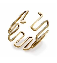 Bracelet   Alexander Calder.  Gold wire.  ca. 1940