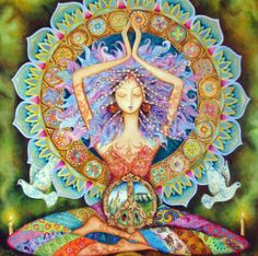 La Paloma - The Yogi Goddess Of Peace by Holly Sierra http://hollysierra.com