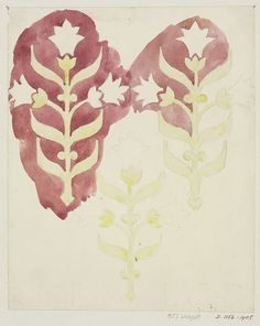 Design for Wallpaper | A. W. Pugin | V&A Search the Collections