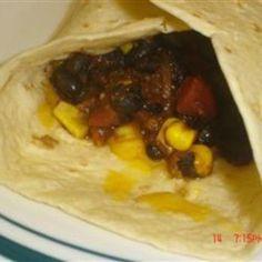 Quick Brownbag Burritos