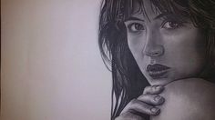 Sophie Marceau/Graphite/Drawing