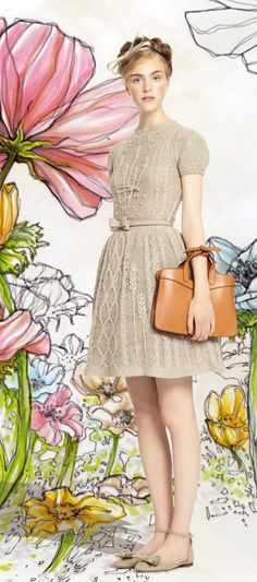 ❀ Flower Maiden Fantasy ❀ beautiful photography of women and flowers - Red Valentino Spring 2014 collection