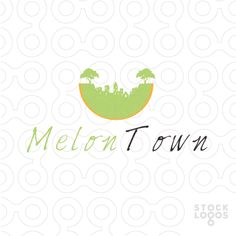 this logo represent house or city that symbolize fun, green and natural.  great for real estate agent, house, or home.