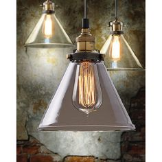 MODERN VINTAGE INDUSTRIAL METAL LOFT GLASS LAMP CEILING LAMP SHADE ...