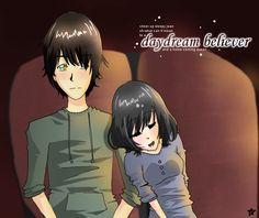 Daydream Believer by ~CheriArigatou on deviantART - Another great scene - The Darkest Powers series by Kelley Armstrong - Derek and Chloe - Fan Art