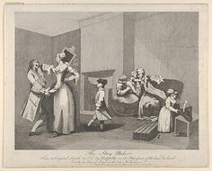 Artwork page for 'The Staymaker, engraved by Joseph Haynes', prints after William Hogarth, 1782 Vintage Wall Art, Vintage Walls, 18th Century Stays, William Hogarth, Poster Prints, Art Prints, New York Public Library, Historical Maps, History