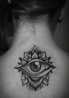 I would love to have this tattoo when I start having kids so I can say I actually do have an eye in the back of my head ;)