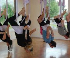 Antigravity yoga - LOVE IT!!!