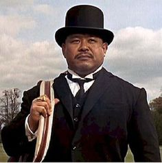 Oddjob From: Goldfinger. Goldfinger's Deadly Henchman. Here He Is Armed With His Killer Hat.