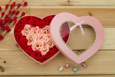 26 Rose Soap Flowers Pink and Red. For Only $56.99