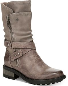 Carlos by Carlos Santana Sawyer Moto Boots Women's Shoes Heeled Boots, Bootie Boots, Stylish Boots, Studded Boots, Cute Boots, Sock Shoes, Women's Shoes, Designer Heels, Boots Online