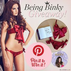 #PinToWin this stunning #Bluebella set as worn by #BinkyFelstead E: 18/8/14