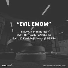 EMOM in 14 minutes: Odd: 10 Thrusters lb); Even: 20 Kettlebell Swings lb) Crossfit Workouts At Home, Kettlebell Cardio, Kettlebell Training, Kettlebell Swings, Fun Workouts, Kettlebell Challenge, Crossfit Legs, Crossfit Baby, Crossfit Chicks