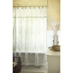 Sand Shell Shower Curtain ($69)