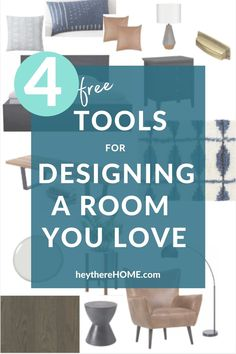 in this video I share my favorite room design tools that will make planning and decorating your next space fun and easy! You'll learn my favorite online tools for designing a room, gathering inspiration, creating a printable moodboard, and creating a floor plan.
