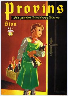 Peikert Martin - Provins Lausanne, Vintage Travel Posters, Poster Vintage, Fürstentum Liechtenstein, Swiss Switzerland, Vintage Advertisements, Ads, Madison Avenue, All Poster