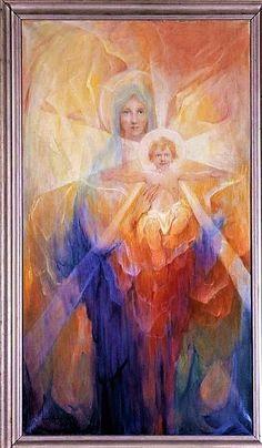 Madonna and Child, by Baron Arild Rosenkrantz.1950