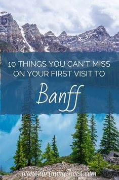 Banff National Park is one of the most beautiful places in Canada, and should be on everyone's bucket lists! Planning an itinerary for your family vacation can be a challenge though, that's why I'm sharing this list of 10 things to do in Banff. Whether you're hiking with kids, camping with families, or are on a solo photography adventure through Alberta, this travel guide will help you choose the best hikes, discover mountain lakes and glaciers, and have the best road trip! #9 was incredible! Canada National Parks, Banff National Park, World Travel Guide, Travel Guides, And So The Adventure Begins, Fun Adventure, Hiking With Kids, Best Hikes, Amazing Adventures