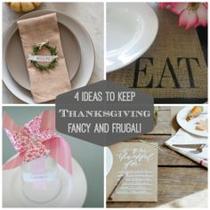 4 DIY Ideas To Keep Thanksgiving Frugal and Fancy
