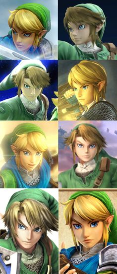 Super Smash Bros and Hyrule Warriors Link designs mashup. Which one do you prefer? I'm kinda leaning towards HW Link.