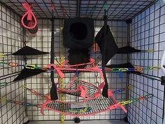 15 pc MESH Sugar Glider Cage Set - Rat - Hot Pink - http://pets.goshoppins.com/small-animal-supplies/15-pc-mesh-sugar-glider-cage-set-rat-hot-pink-2/