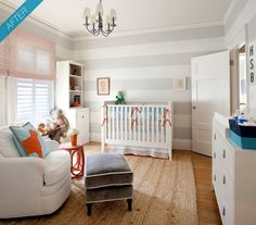 Bright and stripe nursery