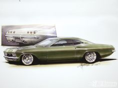 Chevy Impala Foose Design