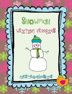 This is an assortment of Snowman themed writing activities..including a tree map, bubble map, Venn Diagram, labeling page, a sequence page, and mor...