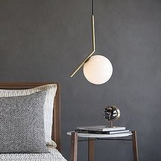 Perfect Pendants.... Imagine if this amazing floating orb changed color! IC Lights S Pendant by Flos Lighting at Lumens.com http://www.lumens.com/ic-lights-s-pendant-by-flos-lighting-FLSP85045.html?tileIndex=1