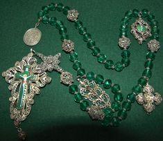 German filigree rosary 1820.