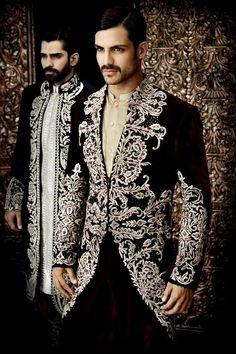Arsalan Iqbal Groom Sherwani Collection 2014 Posted on February 2014 2 Anshul, good look for sangeet Mens Sherwani, Wedding Sherwani, Punjabi Wedding, Wedding Men, Wedding Suits, Wedding Jacket, Farm Wedding, Wedding Couples, Boho Wedding