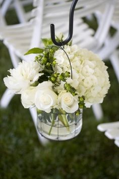 Love whites and greens together!...
