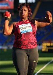 Image result for michelle carter shot put