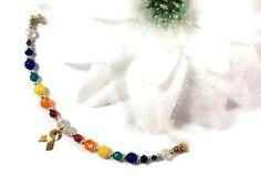 Love Wins Rainbow Bracelet with Magnetic by bellelaroseboutique