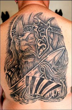 Angry-Viking-Tattoo-For-Leg-2.jpg (439×671)